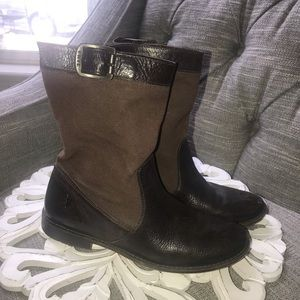 Frye Pull on Slouch Boots Woman's 7.5